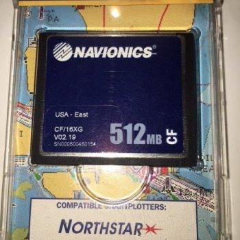 Navionics Gold+ SD Cartridge - Navionics- NA CF/15XG GOLD + XL9 EASTERN US -
