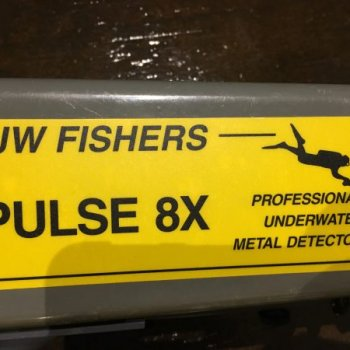 Metal Detector J.W. Fishers Pulse 8X (Used)