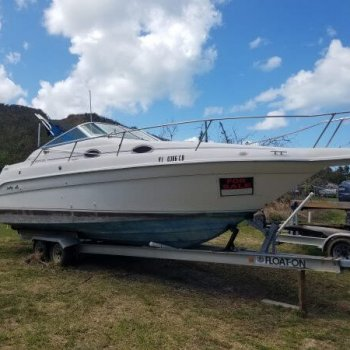 Buy used & new marine Sea Ray, Sundancer 250 yachts & it'sparts in online auction. Marine salvage yachts auction