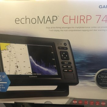 Garmin echoMAP Chartplotter/sonar - New in Box - Garmin- CHIRP 74cv