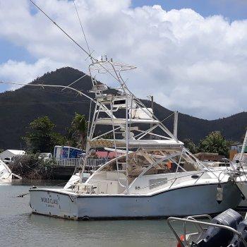 SOLD -2002 Carolina Classic Power Cruiser Fisher 35' World Class
