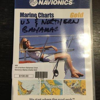 Navionics Gold US and Northern Bahamas (Used)  SALE