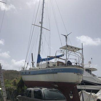 1986 PAC Oceanic Ocean Going Sailing Yacht 43' Sand Castle