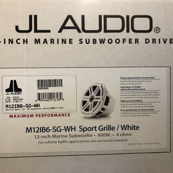 Subwoofer JL Audio M12IB6--WH (New)