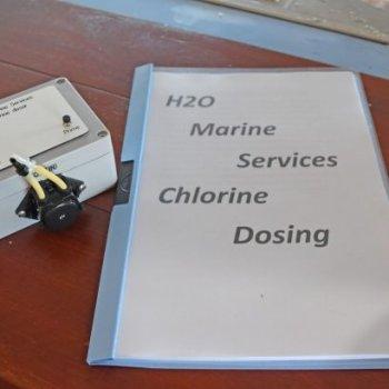 Chlorine dosing and manual